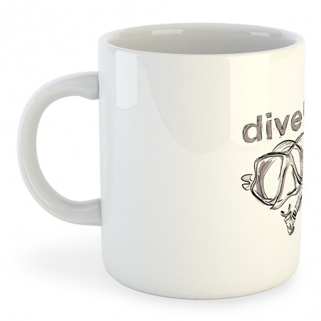 Taza Buceo Dive!