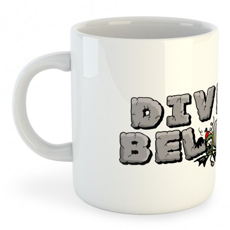 Taza Buceo Diver Below