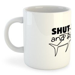 Taza Pesca Shut up and Fish