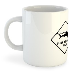 Taza Natacion Surf At Own Risk
