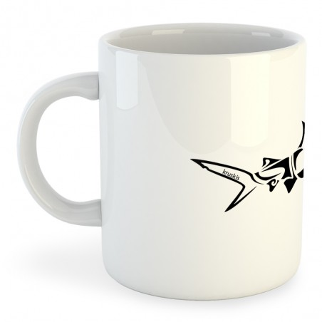 Taza Buceo Shark Tribal