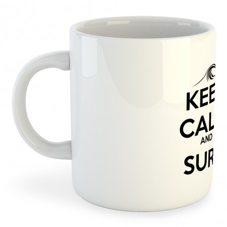 Taza Surf Keep Calm and Surf