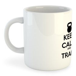 Taza Entrenamiento Keep Calm And Train