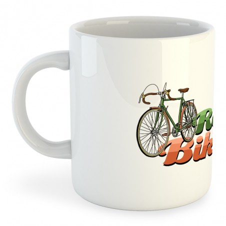 Taza Ciclismo Retro Bikers