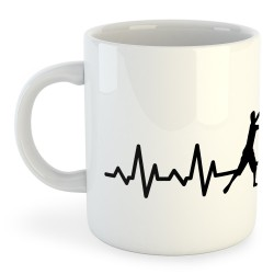 Taza Pesca Fishing Heartbeat