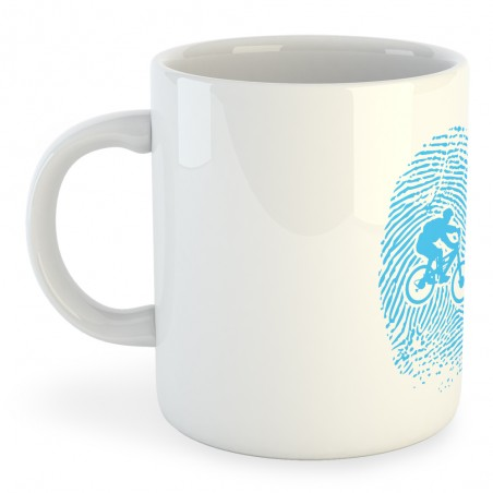 Taza Ciclismo MTB Fingerprint