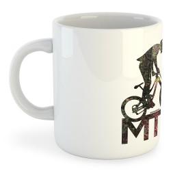 Taza Ciclismo MTB Background