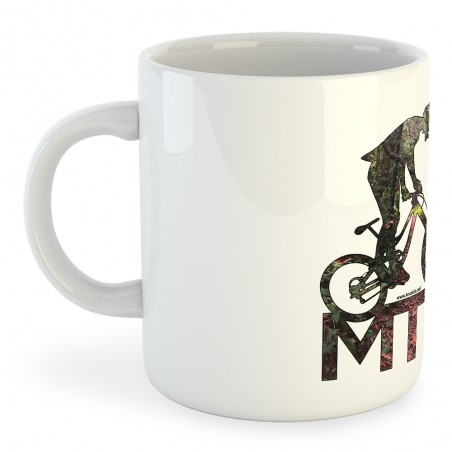 Taza Ciclismo MTB Background