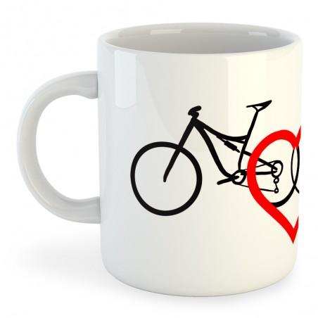 Taza Ciclismo Love
