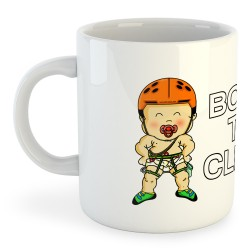Taza Escalada Born to Climb