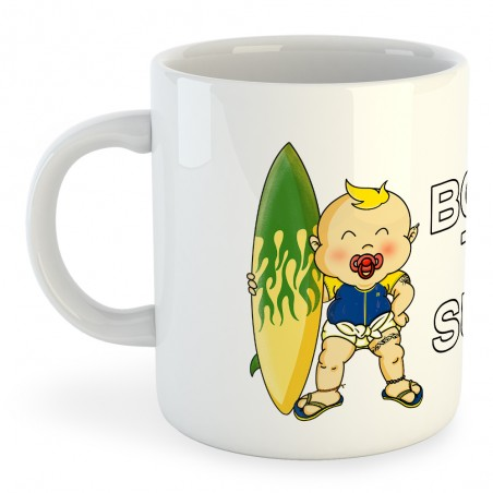 Taza Deportes Extremos Born to Surf