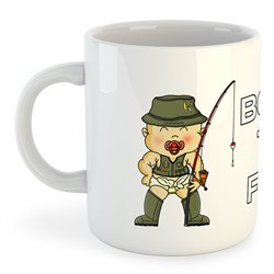 Taza Pesca Born to Fish