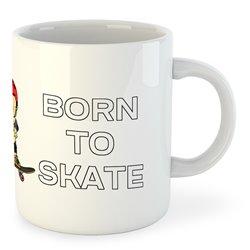 Taza Deportes Extremos Born to Skate