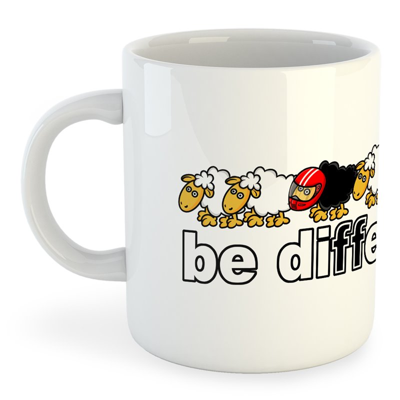 Taza Motociclismo Be Different Motorbike
