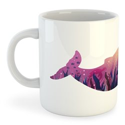 Taza Buceo Whale