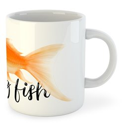 Taza Pesca Flying Fish
