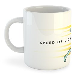 Taza Running Speed of Light