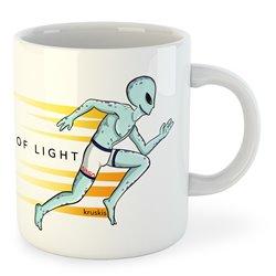 Taza Running Speed of Light