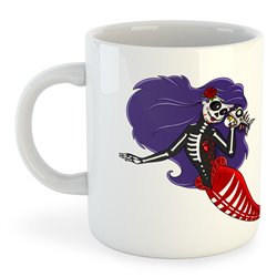 Taza Buceo Mexican Mermaid