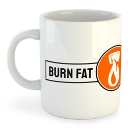 Taza 325 ml Ciclismo Burn Fat