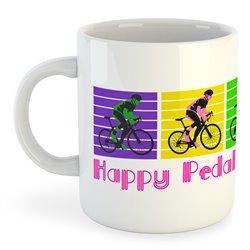 Taza 325 ml Ciclismo Happy Pedal Dancing