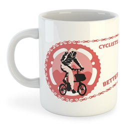 Taza 325 ml Ciclismo Cyclists Have Better Legs