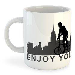 Taza 325 ml Ciclismo Enjoy your City