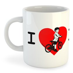 Taza 325 ml Ciclismo I Love Dad