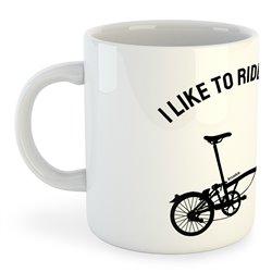 Taza 325 ml Ciclismo I Like to Ride Bikes