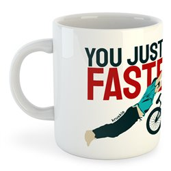 Taza 325 ml BMX Go Faster