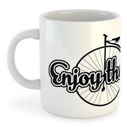 Taza 325 ml Ciclismo Enjoy the Ride