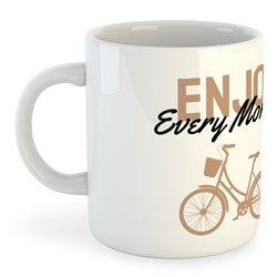 Taza 325 ml Ciclismo Enjoy Every Moment