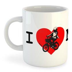 Taza 325 ml Ciclismo I Love Mum