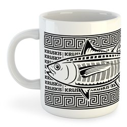 Taza 325 ml Buceo Tuna Tribal