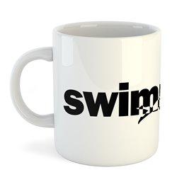 Taza 325 ml Natacion Word Swimming