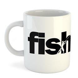 Taza 325 ml Pesca Word Fishing