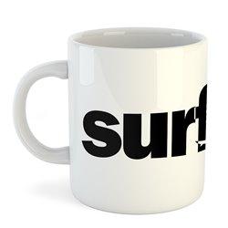 Taza 325 ml Surf Word Surfing