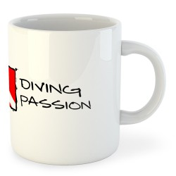 Taza Buceo Diving Passion