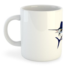 Taza Pesca Jumping Sailfish