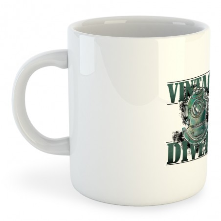 Taza Buceo Vintage Divers