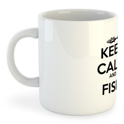 Taza Pesca Keep Calm and Fish