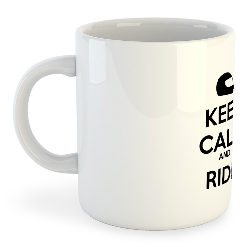 Taza Motociclismo Keep Calm And Ride