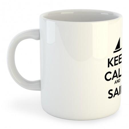 Taza Nautica Keep Calm and Sail