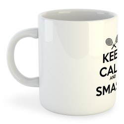 Taza Tennis Keep Calm and Smash