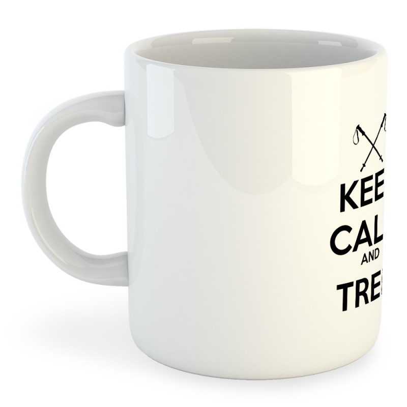 Taza Trekking Keep Calm And Trek