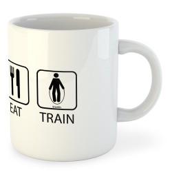 Taza Entrenamiento Sleep Eat and Train