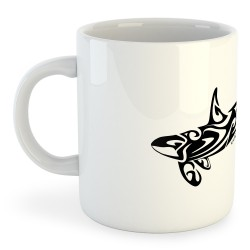 Taza Buceo Orca Tribal