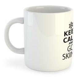Taza Esqui Keep Calm and Go Skiing