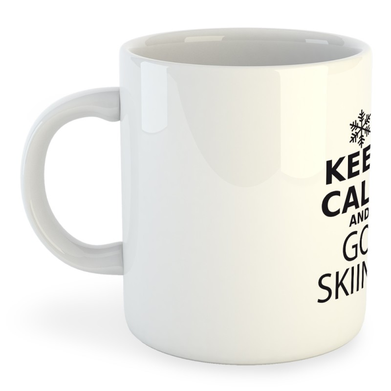 Taza Esqui Keep Calm and Go Skiing