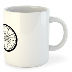 Taza Ciclismo Wheel